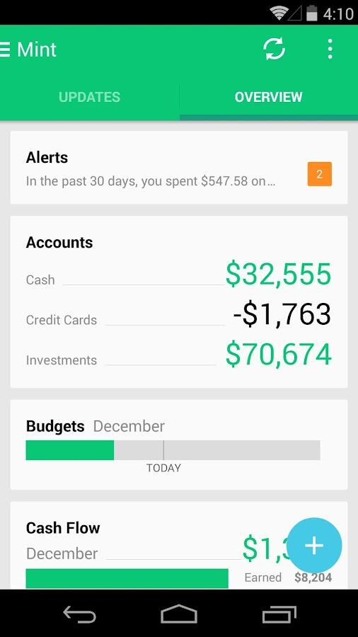 Mint: Finance, Budgets & Money - screenshot