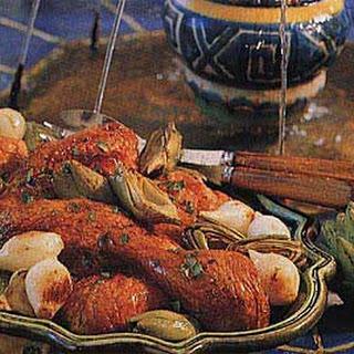 Chicken with Artichokes Recipe