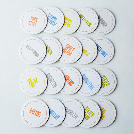 NYC Coasters (Set of 10)