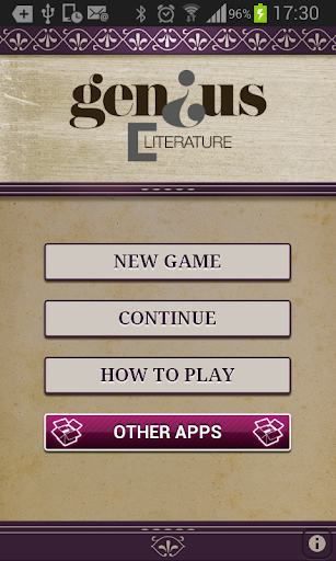 Genius Literature Quiz Lite