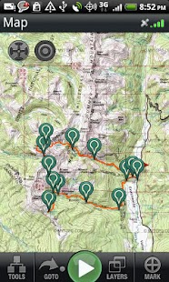 Backpacker GPS Trails Lite - screenshot thumbnail