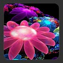 4D Flowers Live Wallpaper icon