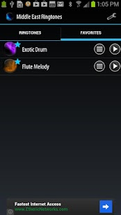 Middle East Ringtones - screenshot thumbnail