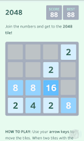 Screenshot of 2048 (Ad free, no ads)