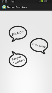 Diction Exercises- screenshot thumbnail