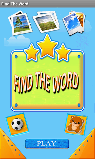 Find the Word Game