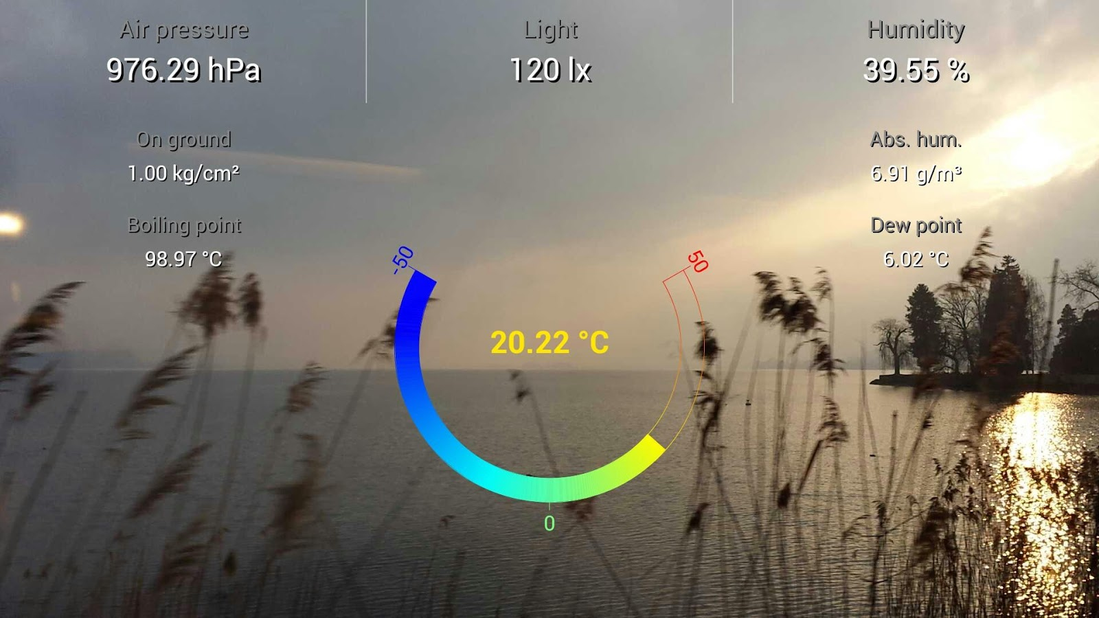 S4 Weather Station- screenshot