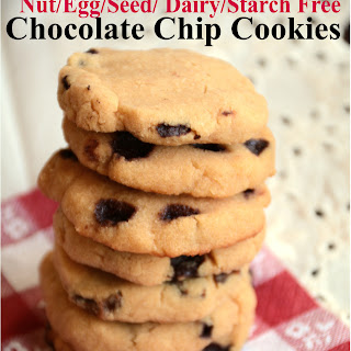 Chocolate Chip Cookie (AIP, egg free, nut free, grain free)