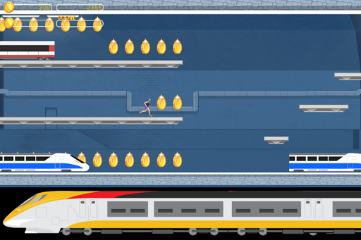 Subway Train Tunnel