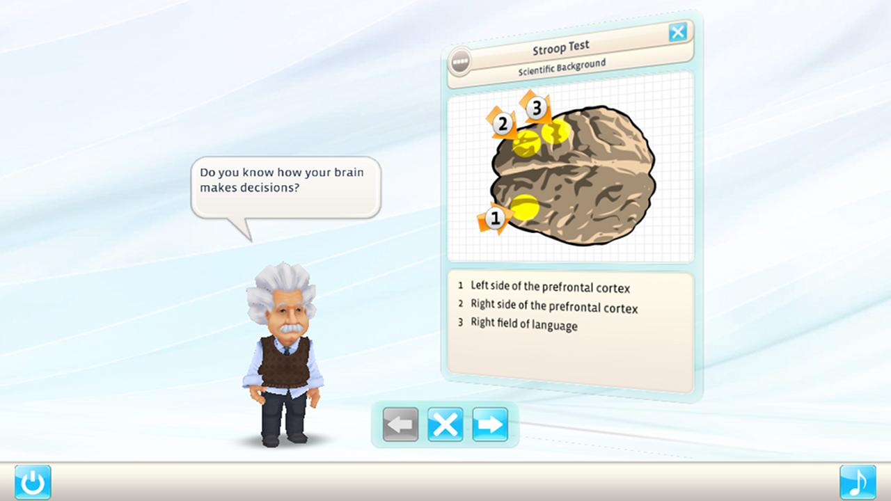 Einstein™ Brain Trainer HD - screenshot