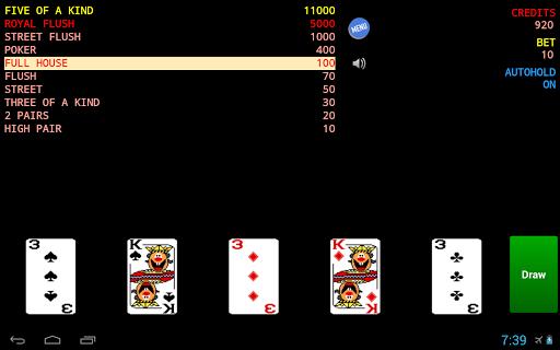 【免費紙牌App】Jolly Card Poker-APP點子