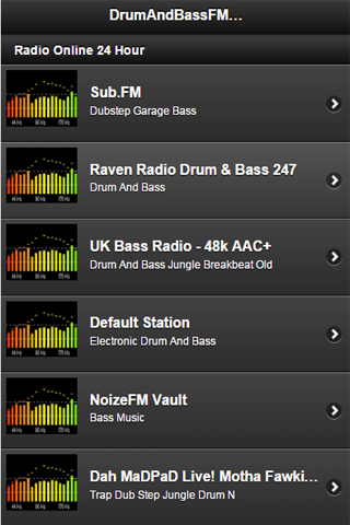 Drum And Bass FM Radio