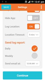 Easy Call and Texts Logger - screenshot thumbnail