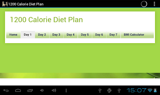 1200 Calorie Diet Plan- screenshot thumbnail