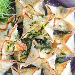 Baked Vegetable Wontons.