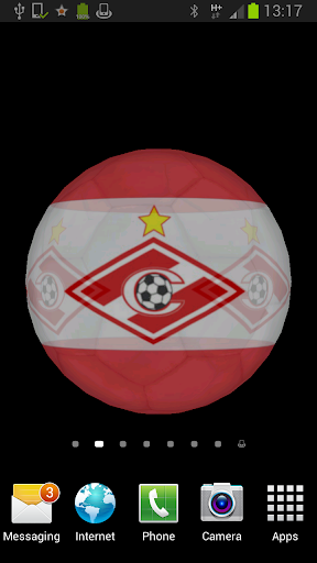 Ball 3D Spartak Moscow LWP