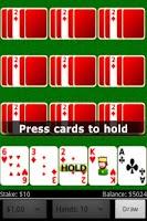 Screenshot of Deuces Wild Video Poker FREE