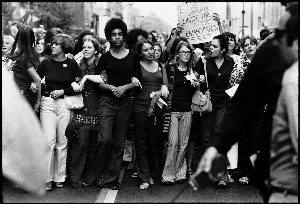 the changing role of women with the advent of the feminist movement Taking a new look - the enduring significance of the american woman suffrage movement by robert cooney women vote today because of the woman suffrage movement, a courageous and persistent.