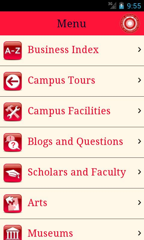 Visit Rutgers- screenshot