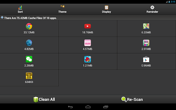 Clean Cache - Optimize Support Android 6.0 & 7.0