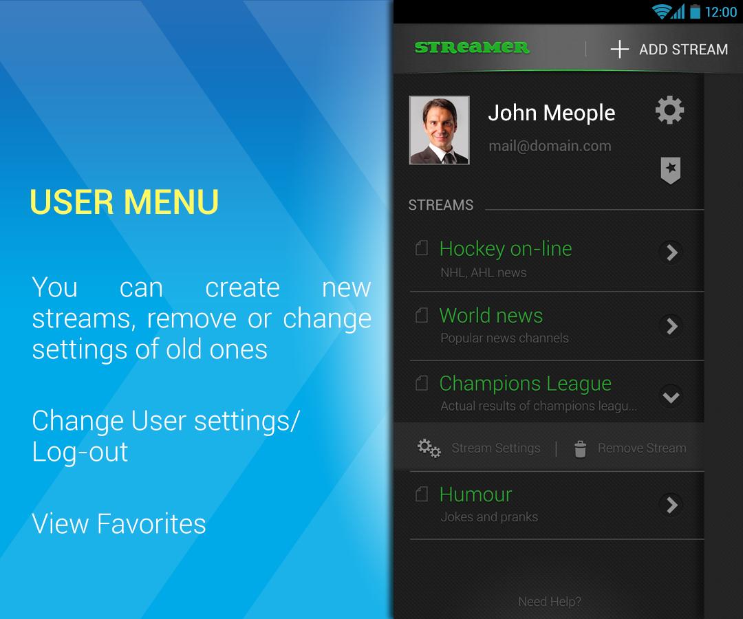 Meople.Streamer - screenshot