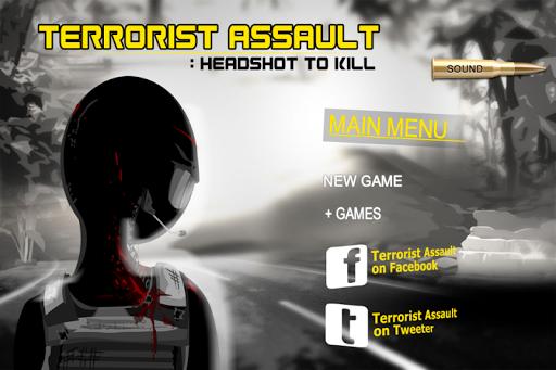 Terrorist Assault Sniper Shot
