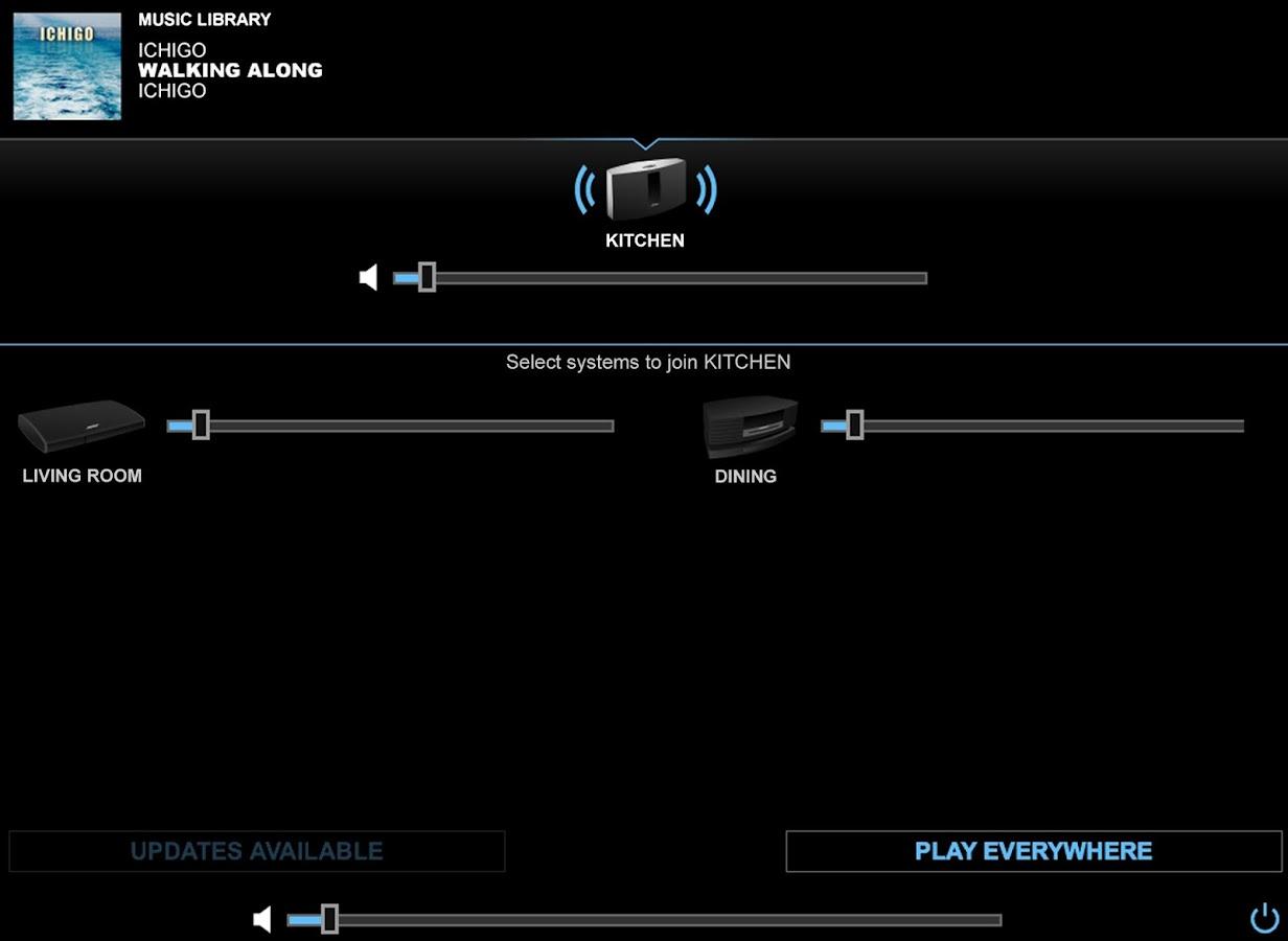 SoundTouch Controller - screenshot