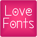 Fonts Love for FlipFont® Free icon