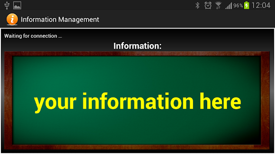 Information Management - screenshot thumbnail
