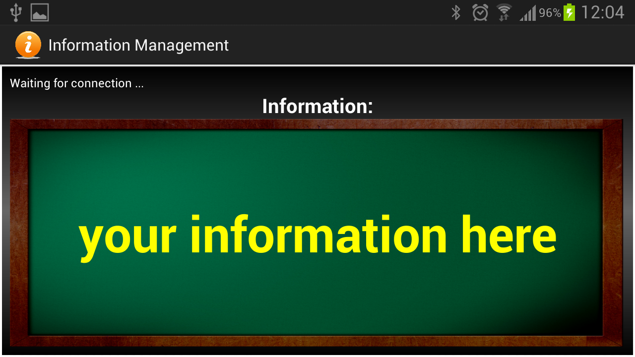Information Management - screenshot