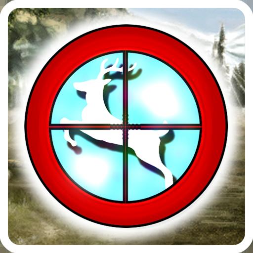 鹿撃ち リアル 無料で遊べる簡単ハンティングゲーム 體育競技 App LOGO-硬是要APP