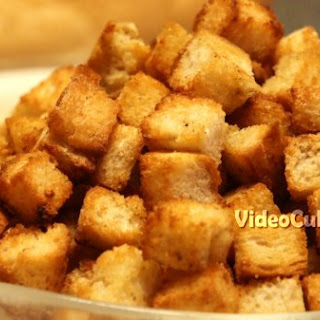 Garlic Croutons Recipe