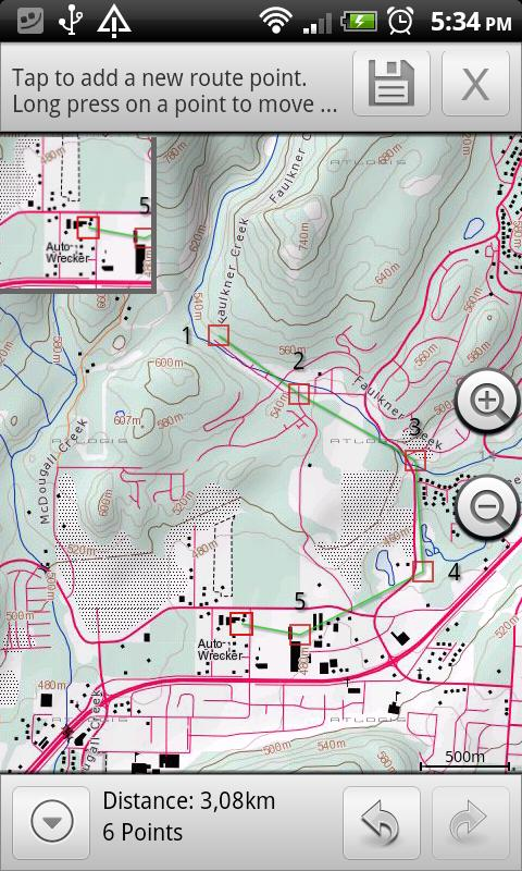 Canada Topo Maps Free - screenshot