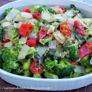 Thai Basil Broccoli Stir Fry.