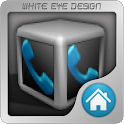 Silver Cube 4 Apex Launcher icon