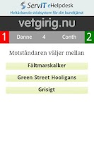 Screenshot of Vetgirig Duellen