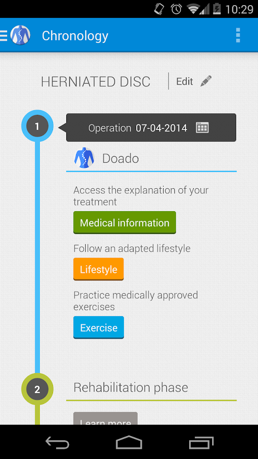 Doado your health companion- screenshot