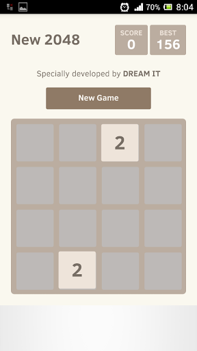 2048 Number Game