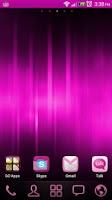 Screenshot of Pretty in Pink - GoLauncher