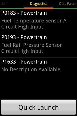 OBDDiag Toyota Pro - screenshot