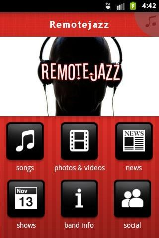 Remotejazz - screenshot
