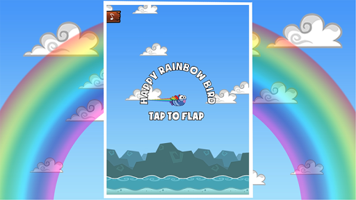 Happy Rainbow Bird