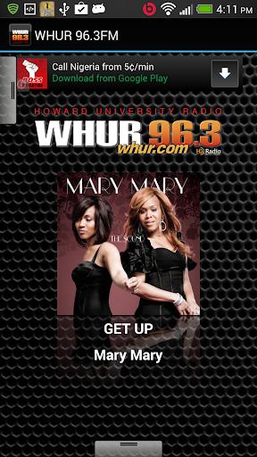 WHUR 96.3FM
