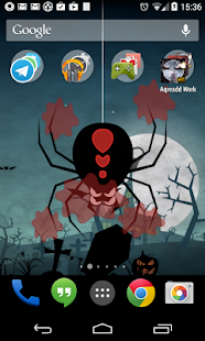 Halloween Live Wallpaper world- screenshot thumbnail