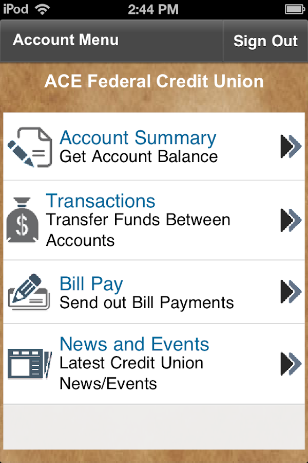 Allegheny Central Emp FCU - screenshot