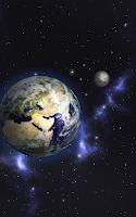 Screenshot of GyroSpace 3D Live Wallpaper