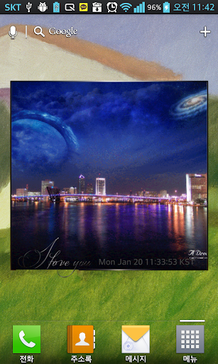 Easy Photo Frame Widget screenshot for Android