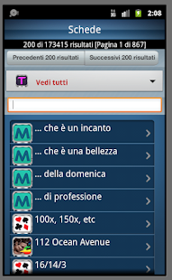 Italian dictionary - screenshot thumbnail