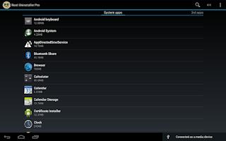 Screenshot of Root Uninstaller