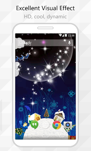 Snow Land Live Wallpaper